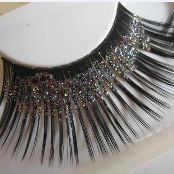 Sbc Makeup Glitter False Eyelashes Poshmark