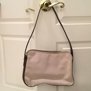Cole Hann taupe/brown conservative Cole Haan bag
