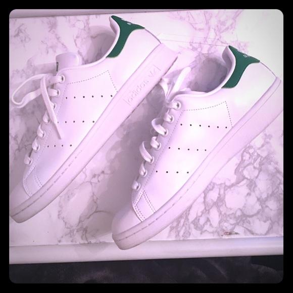 Zapatillas adidas Stan Smith, blanco, verde poshmark de tenis