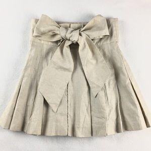 Twenty8Twelve Dresses & Skirts - twenty8twelve Linen Pleated Skirt NWT
