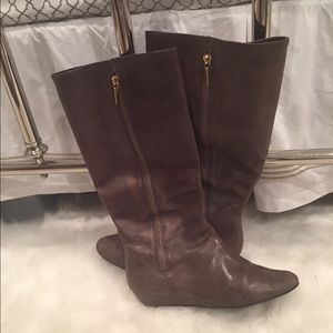 Steve Madden Shoes - Steve Madden Inragee Tall Leather Boots 10