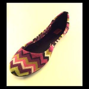 Missoni for Target Shoes - Missoni for Target Chevron Flat
