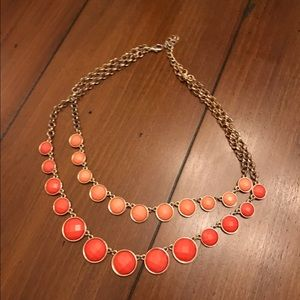 Jewelry - Talbot's orange bubble necklace
