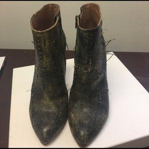 Maison Martin Margiela Shoes - Maison Margiela Distressed Boots