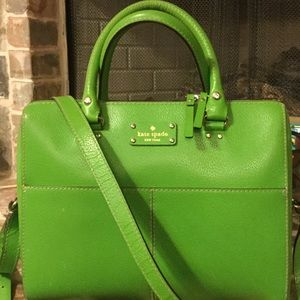 Kate Spade satchel bag with strap