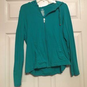 Danskin Now Jackets & Blazers - Turquoise light weight jacket