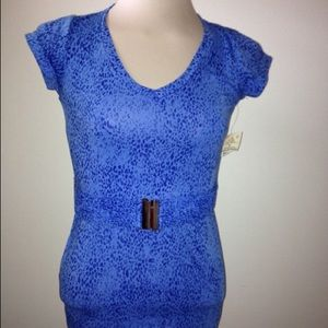 Tops - NWT Belted T-Shirt Sz M