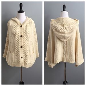 Anthropologie Jackets & Blazers - ✨HOST PICK✨ Anthropologie sweater cape
