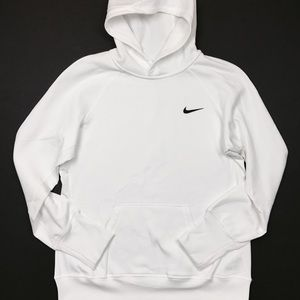 Nike Shirts - Nike Therma-Fit White Hoodie