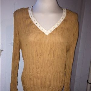 Tops - Caramel Tunic Sz XL