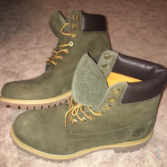 Super Timberland Shoes | Olive Green S Like New | Poshmark #KX39