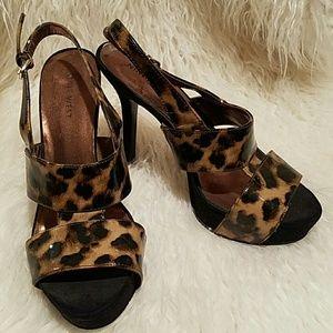 Nine West heel sandals