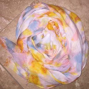 Beautiful multicolored scarf