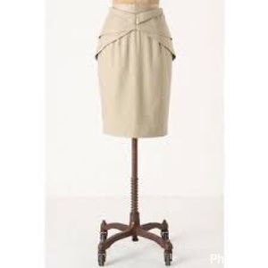 Anthropologie girls from savoy origami skirt