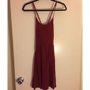 American Apparel Cross-back Dress