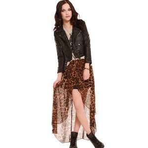 gypsy warrior Dresses & Skirts - Gypsy Warrior High Low Cheetah Maxi