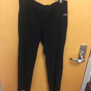 Spalding Black Yoga Pants