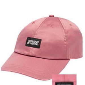 PINK Victoria's Secret Accessories - BNIP Victoria Secret Pink Satin Hat