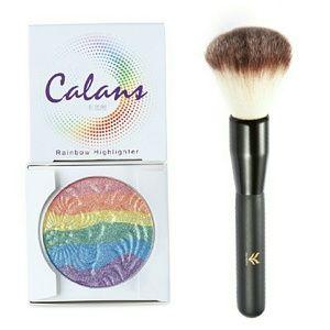 Sephora Other - Rainbow Unicorn Highlighter & Brush