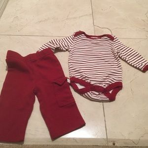 Baby Gear Other - Baby gear set onesie and pants