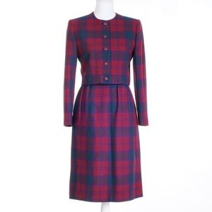 Vintage Dresses & Skirts - 🌸5 for $25🌸vintage wool plaid suit