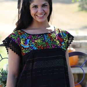 Cielito Lindo Tops - 🌈New Handmade Embroidered Mexican Traditionsl Top