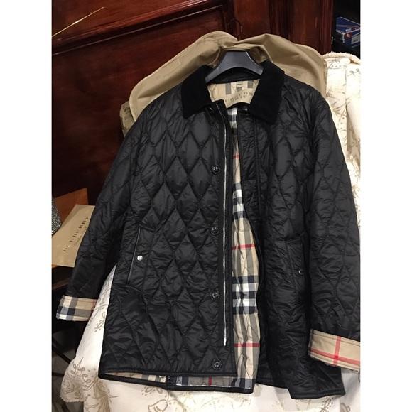 Burberry Jackets Coats Men Quilted Jacket Poshmark