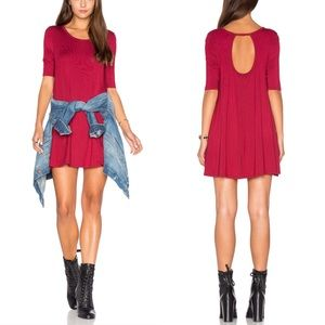 Free People Dresses & Skirts - NWT Free People Back Keyhole Jersey Tunic Dress