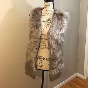 Fabulous Furs Jackets & Blazers - Faux fur vest