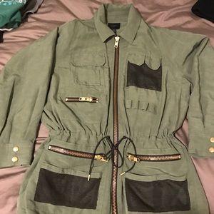 Smythe Jackets & Blazers - Smythe green zip jacket