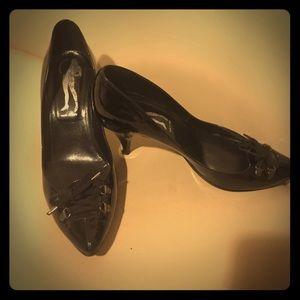 Belle by Sigerson Morrison Shoes - Black Sigerson Morrison Heels Size 8