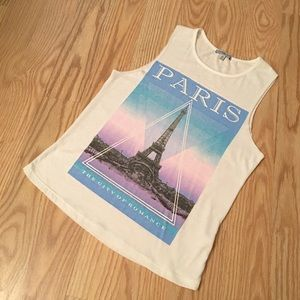 CHARLOTTE RUSSE Paris Shirt
