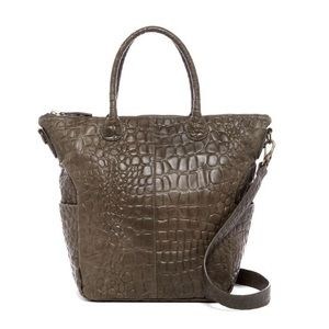 Liebeskind Handbags - PARTY SALE AUTHENTIC  Croc embossed leather tote