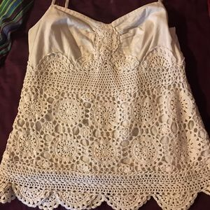 INC International Concepts Tops - *5for$20* Crochet Tank *5for$20*