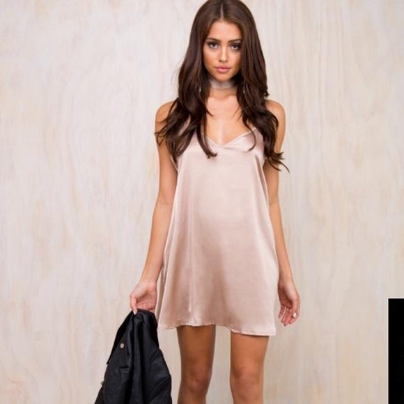 48f0a0cc9f9 Princess Polly Silk Dress. M 589175c1981829c75901cb88