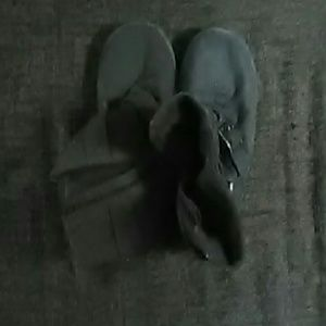 blossom  Shoes - Grey blossom boots size 8.5