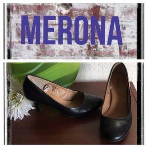 Merona black classic pump