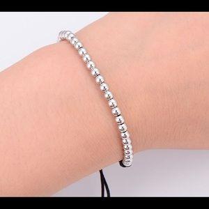 Jewelry - Macrame Bracelet with 4mm Cooper Beads