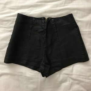 Forever 21 Faux Leather Short
