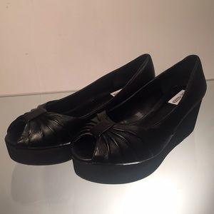 Steve Madden Shoes - Steve Madden Women's Platform Flat, Black, 8.5