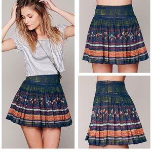 Free people boho skirt- medium