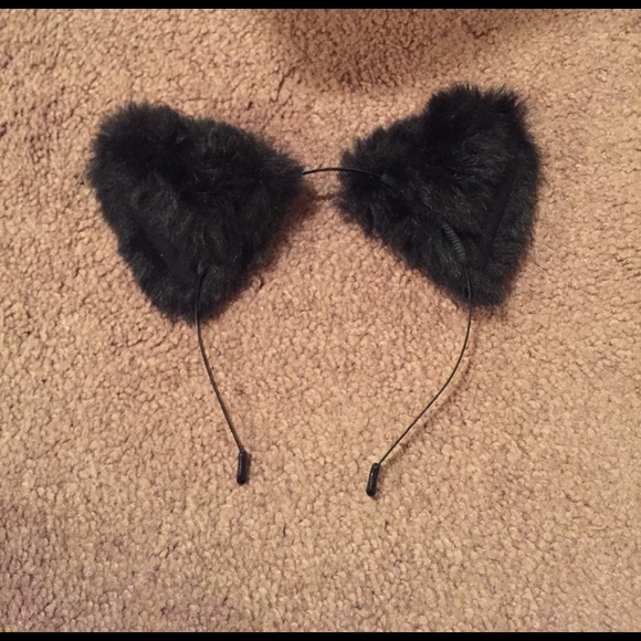 dollskill Accessories - Black kitty ears