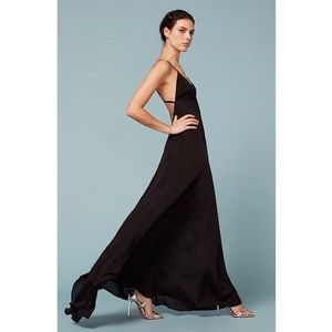 Reformation Arabeth backless maxi gown dress