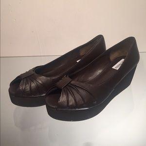Steve Madden Shoes - Steve Madden Women's Platform Flat, Brown, 8.5