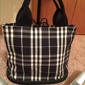 Burberry Handbags - Authentic Burberry blue label bucket bag
