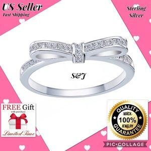 Jewelry - 925 sterling silver fashion women engegament ring