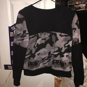 Young & Reckless Tops - Young & Reckless camo crewneck