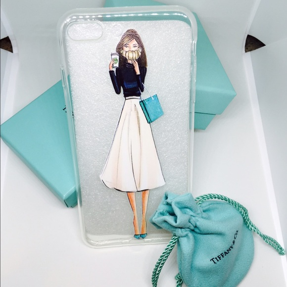 sneakers for cheap da0a2 fc37c Tiffany Girl IPhone 6 Plus 7 Plus Case💎💍 NWT