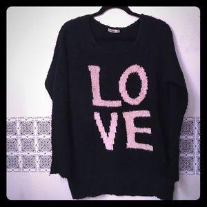 ANGL Sweaters - Fashion Sweater dress / oversized sweater black