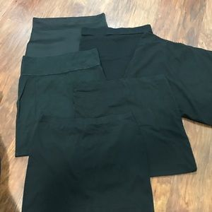 H&M Dresses & Skirts - SET OF 6 black skirts with various lengths!